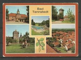 Ansichtskarte DDR 1985 BAD TENNSTEDT Gesendet 1990 Mit Briefmarke - Bad Tennstedt