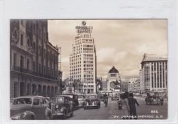 AV JUAREZ, DF. MEXICO. CIRCA 1940s. NON CIRCULEE - BLEUP - Mexico