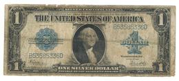 USA 1 Dollar, 1923 Series, Large Note. Used, See Scans. P-342 - Silver Certificates (1878-1923)