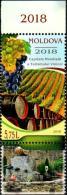 """Moldova 2018 """"Moldova - World Capital Of Wine Tourism"""" 1v Zf Quality:100% - Moldova"""