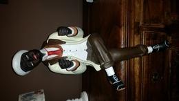 Leuk En Decoratief Beeld Van  Afro-American - Céramiques