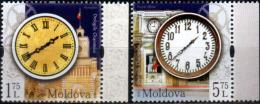 "Moldova 2018  ""The City Watches Of Chisinau"" 2v Quality:100% - Moldova"