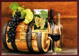 "Moldova 2018 Folk Holiday ""Day Of Wine"" Special Cancellation Postcard Quality:100% - Moldova"