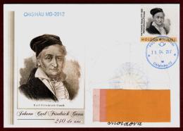 "Moldova 2017 ""240th Anniversary Of Carl Friedrich Gauss (1777-1855) Commemorative Envelope. Quality:100% - Moldova"