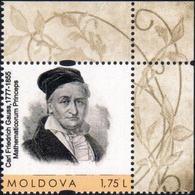 "Moldova 2017 ""240th Anniversary Of Carl Friedrich Gauss (1777-1855)  1v Quality:100% - Moldova"
