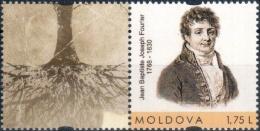 "Moldova 2018 ""250th Anniversary Of Jean Baptiste Joseph Fourier (1768 - 1830)"" 1v Quality:100% - Moldova"