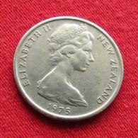 New Zealand 5 Cents 1975 KM# 34.1   Nova Zelandia Nuova Zelanda Nouvelle Zelande - New Zealand