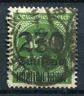42695) DEUTSCHES REICH # 293 Gestempelt GEPRÜFT Aus 1923, 22.- € - Deutschland