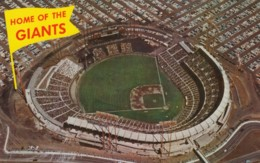 Candlestick Park San Francisco Giants Baseball Stadium, 1960s Vintage Postcard - Baseball