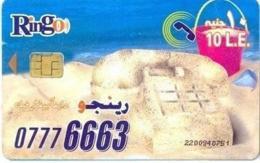 EGY-RINGO : RI37 10LE RINGO Sand Telephone/2 Women (new Chip) USED - Egypt