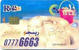 EGY-RINGO : RI37A 10LE RINGO Sand Telephone/2 Women (SIE35 Chip) USED - Egypt