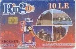 EGY-RINGO : RI70 10LE RINGO 4 Views Cheops Nile,.. USED - Egypt