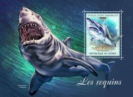 Guinea  2018  Sharks  S201809 - Guinée (1958-...)