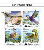 Maldives  2018  Prehistoric Birds   S201809 - Maldives (1965-...)