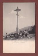 France - SALEVE - La Croix - Ânes Et Femme - Non Classés