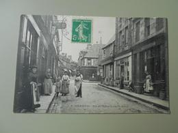 MANCHE SOURDEVAL RUE DE L'EGLISE ET RUE ST MARTIN - Autres Communes