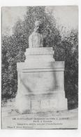 (RECTO / VERSO) MONTAUBAN EN 1914 - N° 119 - MONUMENT DU POETE A. QUERCY - CACHET TRESOR ET POSTES - CPA VOYAGEE - Montauban