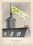 Projet Publicitaire Peint - SAMAR - Années 1950 - - Altre Collezioni