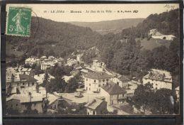 3958. MOREZ . LE BAS DE LA VILLE . RECTO/VERSO. ANNEE . 1915 - Morez