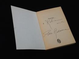 Avec Dédicace Paco Rabanne Trajectoire D' Une Vie à L' Autre...  N° 3411 (1991) J' Ai Lu - Livres, BD, Revues