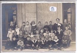 BESANCON- OU ENVIRONS- CARTE-PHOTO- CLASSE ENFANTINE-  PHOTO A D HOOP A BESANCON - Besancon