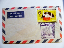 Cover Paraguay Special Cancel 1965 Pope - Paraguay