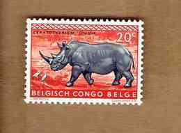 Congo Belge: OBP-COB.  1959 - N°351. *FAUNE DU CONGO*    20c  Neuf*  . - 1947-60: Ungebraucht