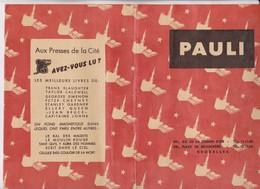 PROTEGE CAHIER PAULI A BRUXELLES - Omslagen Van Boeken