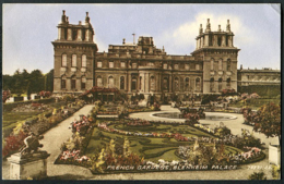 Blenheim Palace - French Gardens - England