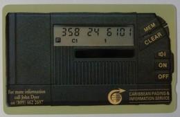 CARIBBEAN - General - GPT - GEN-CW1A - 1990 - Paging Service - 1CAWA - 197ex - Mint - RARE - Antillen (Overige)