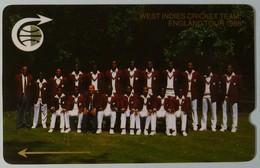 CARIBBEAN ISLANDS GENERAL - GPT - GEN-CC1B - 1989 - West Indies Cricket Team - 1CCMB - Used - Antilles (Other)
