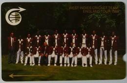 CARIBBEAN ISLANDS GENERAL - GPT - GEN-CC1B - 1989 - West Indies Cricket Team - 1CCMB - Mint - Antilles (Other)
