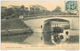 55 SAINT-MIHIEL. Montmeuse Et Canal. Ecluse Et Pont 1903 - Saint Mihiel