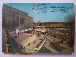 Exposition Universelle Et Internationale De Bruxelles 1958 Dépliant 10 Cartes 10,5 X 7,5 Cm - Universal Exhibitions