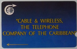 CARIBBEAN ISLANDS GENERAL - GPT - GEN-CC1C - The Telephone Company Of The Caribbean - 1CCMC - Used - Antillen (Overige)