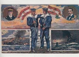 Austria / Navy + Ship Mail / Censorship / Feldpost - Austria