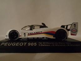 PEUGEOT 905-Vainqueur Des 24 H Du Mans 1992- #1 D.Warwick,M.Blundell,Y.Dalmas -1/43 100 Ans De Course Automobile-Altaya - Voitures, Camions, Bus