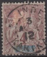 N° 3 - O - - India (1892-1954)