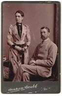 Photo Debenham & Gould, Bournemouth, Portrait Gutbürgerliches Paar - Persone Anonimi