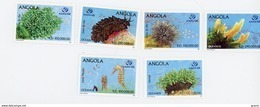Angola 1998-Année De L'océan,Expo Lisbonne-Faune Marine-YT1139/44***MNH- - Angola