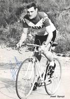 """¤¤   -   Le Coureur Cycliste """" Josef  SPRUYT """"  -  Dédicace  -  Cyclisme    -   ¤¤ - Cycling"""