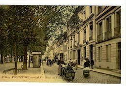 Carte Postale Ancienne Rochefort Sur Mer - Hôtel De Ville - Mairie - Rochefort