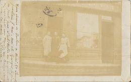 Carte-photo à Identifier: Commerce, Magasin (chapellerie) En Ardèche? St Saint-Péray? 1904 - Postcards