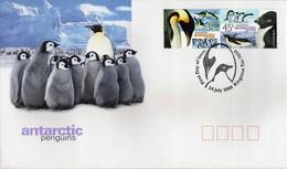 Antarctica / Antarctiques.  Australian Antarctic Territory (AAT) - FDC 2000 Penguins - FDC