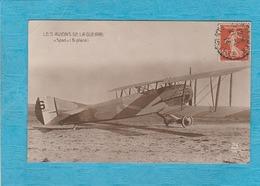 Les Avions De La Guerre '' Spad '' Bi-Place. - ( Royan 1922 Pour Paris ). - Avions