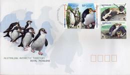 Antarctica > Australian Antarctic Territory (AAT) - FDC 2007 WWF - Royal Penguins - FDC
