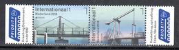 Nederland 2018 Nvph Nr 3630 - 3631, Mi Nr 3698 - 3699, Nederlandse Bruggen, Europa, Dedemsvaart En Kwakelbrug, Cept - Periode 2013-... (Willem-Alexander)