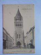 Borgerhout-les-Anvers La Facade De L'Eglise St. Jean-Baptiste Uitg G. Hermans Gelopen Circulée - Antwerpen