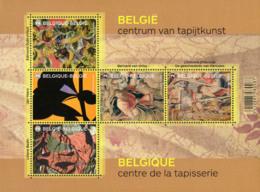 Belgium BL 222** Tapisseries  Année 2015  2 - Blocs 1962-....