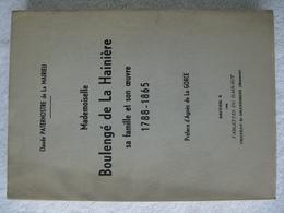 Hainaut – Famille Boulengé De La Hainière - EO 1966 – Peu Courant Et Tirage Limité - Belgium